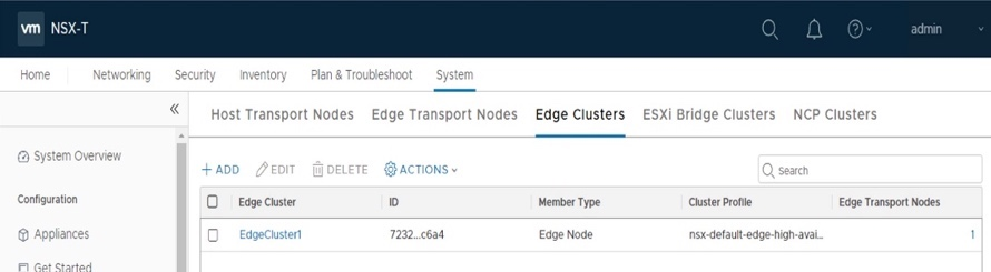 Validate Edge Cluster creation.
